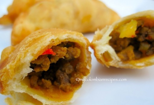 "<span class=""p-name"">Empanaditas de Carne (Small Beef Turnovers)</span>"