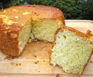 Bizcochuelo (Colombian Sponge Cake)