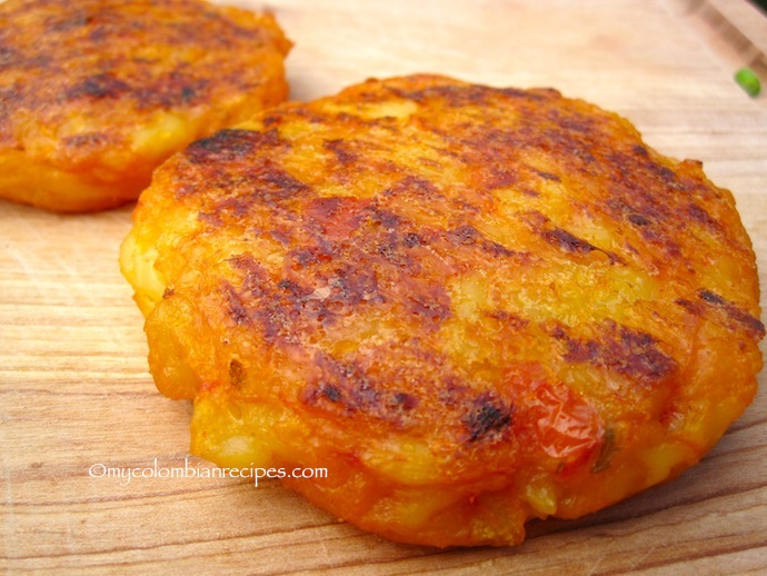 Lapingachos (Colombian-Style Potato Cakes)