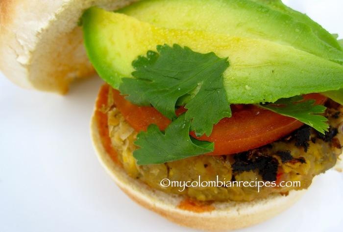 Lentil Patties or Meatless Burger
