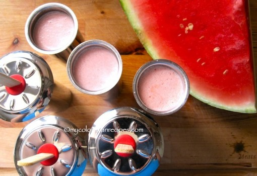 "<span class=""p-name"">Paletas de Sandia o Patilla (Watermelon Popsicles)</span>"