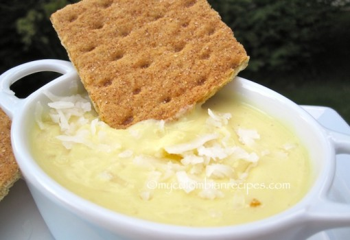 Passion Fruit and Coconut Dip