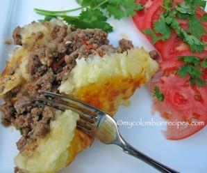 Beef and Cassava casserole