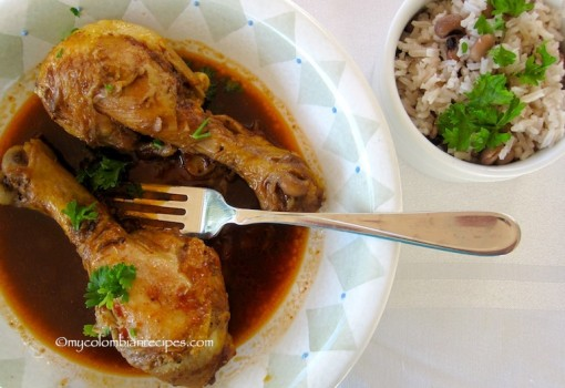 Pollo a la Coca-Cola (Braised Chicken with Cola Drink)