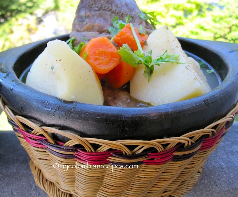 Caldo de Costilla (Colombian Beef Ribs Broth)