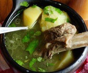 Caldo de Costilla (Colombian Beef Rib Soup)