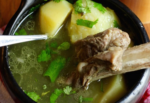 "<span class=""p-name"">Caldo de Costilla (Colombian Beef Ribs Broth)</span>"