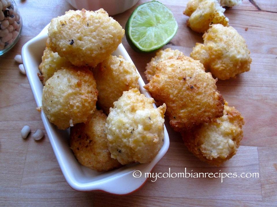 Buñuelos de Fríjol de Cabecita Negra (Black-eyed Pea Fritters)