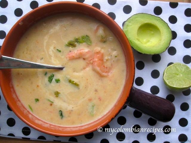 Crema de Camarones (Creamy Shrimp Soup)
