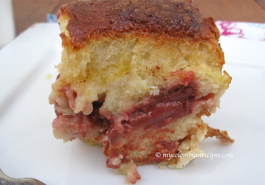 Guava Pudding Cake