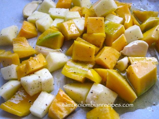 Roasted Butternut Squash, Apple and Jalapeño Flatbread