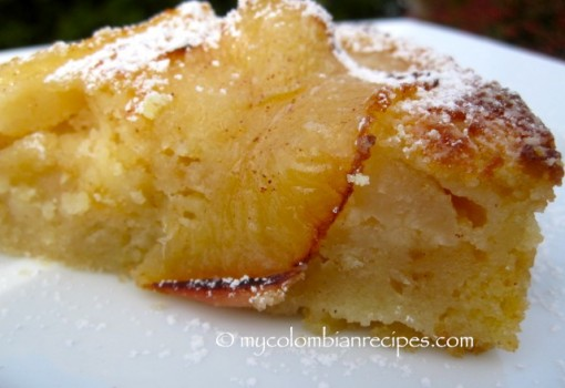 "<span class=""p-name"">Torta de Manzana (Colombian-Style Apple Cake)</span>"