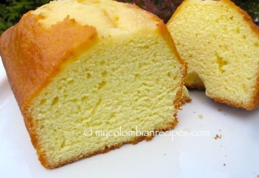 """<span class=""""p-name"""">Ponqué (Colombian Pound Cake)</span>"""