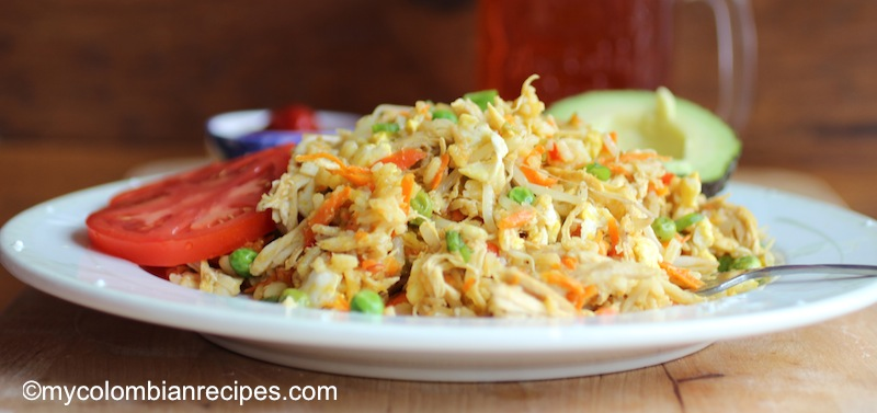 Arroz Chino-Colombiano or Chinese Rice Colombian Style
