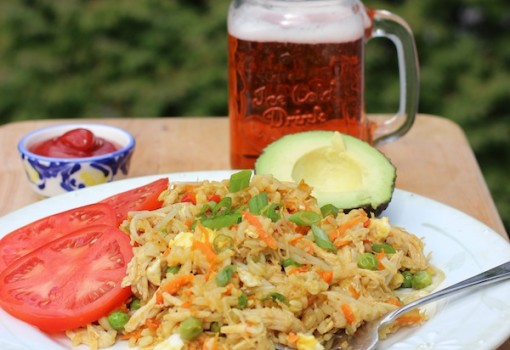 "<span class=""p-name"">Arroz Chino Al Estilo Colombiano (Colombian-Style Fried Rice)</span>"