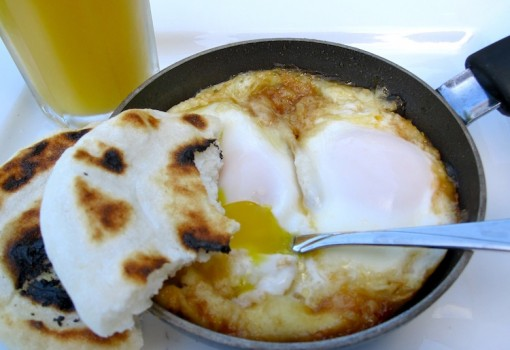Huevos Fritos con Miel (Fried Eggs with Honey)