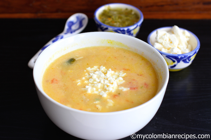 Locro Nariñense (Potato and Cheese Soup)