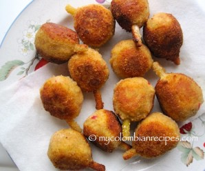 Muslitos (Chicken and Pork Croquettes)