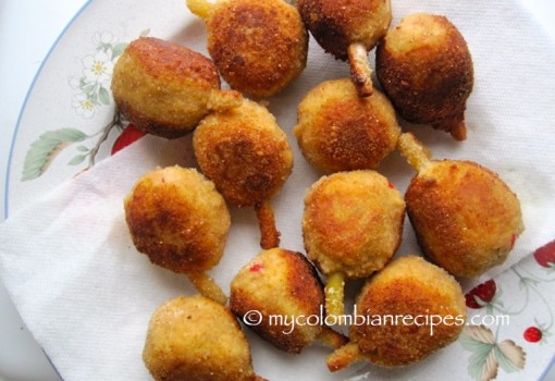 Muslitos (Chicken and Pork Croquettes)
