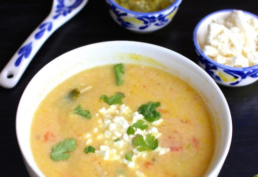 "<span class=""p-name"">Locro Nariñense (Potato and Cheese Soup)</span>"