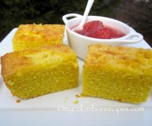 Mantecada (Colombian-Style Butter Corn Bread)