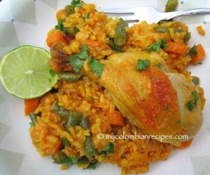 Arroz con Pollo al Horno (Baked Chicken and Rice)