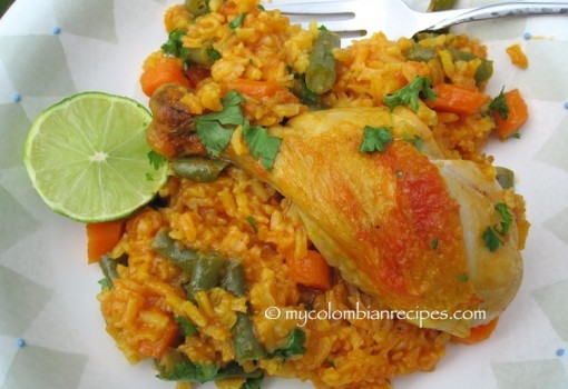 "<span class=""p-name"">Arroz con Pollo al Horno (Baked Chicken and Rice)</span>"