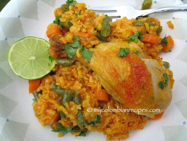 Arroz con Pollo al Horno (Baked Chicken and Rice)