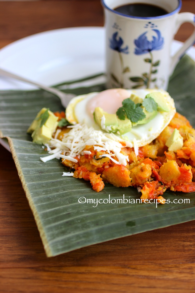 Cayeye and Cabeza de Gato(Colombian Mashed Green Plantain)