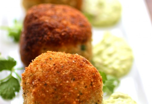 "<span class=""p-name"">Chorizo, Cheese and Potato Croquettes with Avocado Aioli</span>"