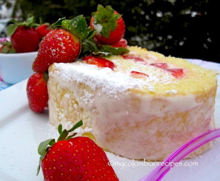 Jam And Cream Filling For Sponge Cake