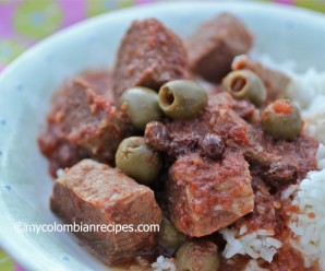 Slow Cooker Cuban-Style Beef Stew