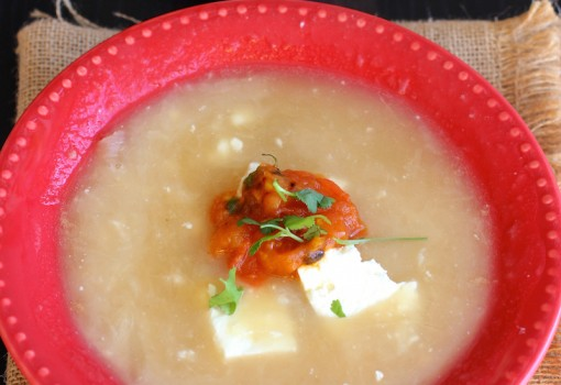 """<span class=""""p-name"""">Mote de Queso (Colombian Cheese and Yam Soup)</span>"""