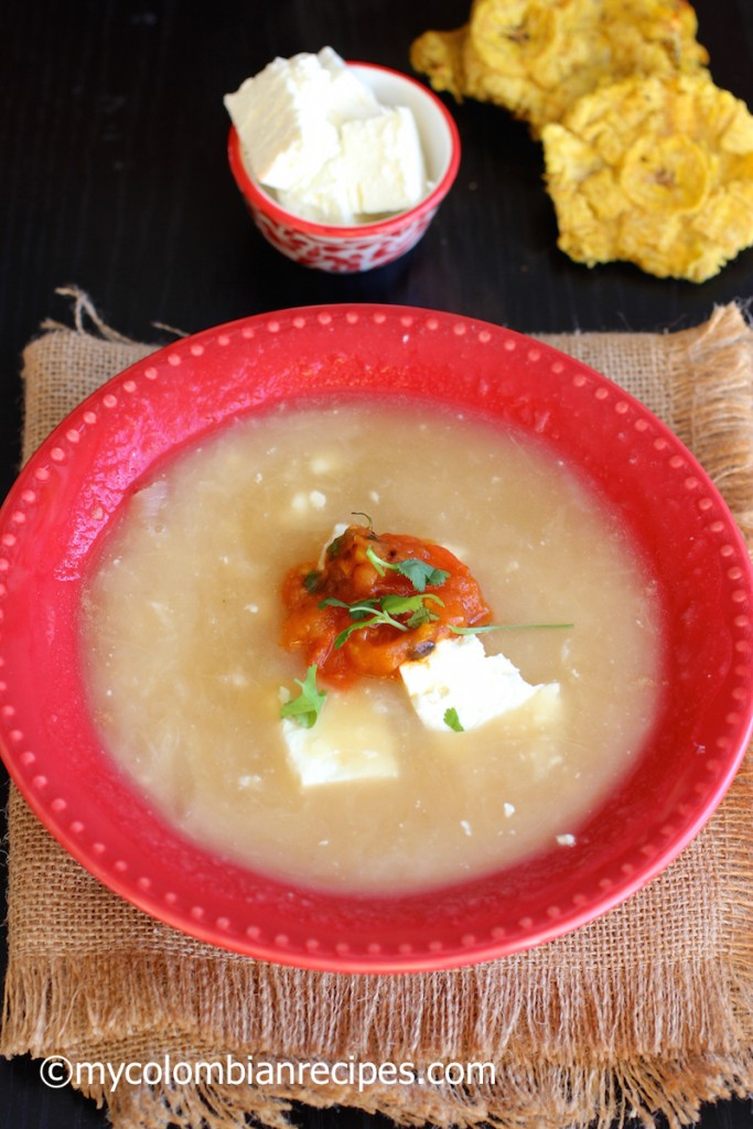 Mote de Queso (Colombian Cheese and Yam Soup)|mycolombianrecipes.com
