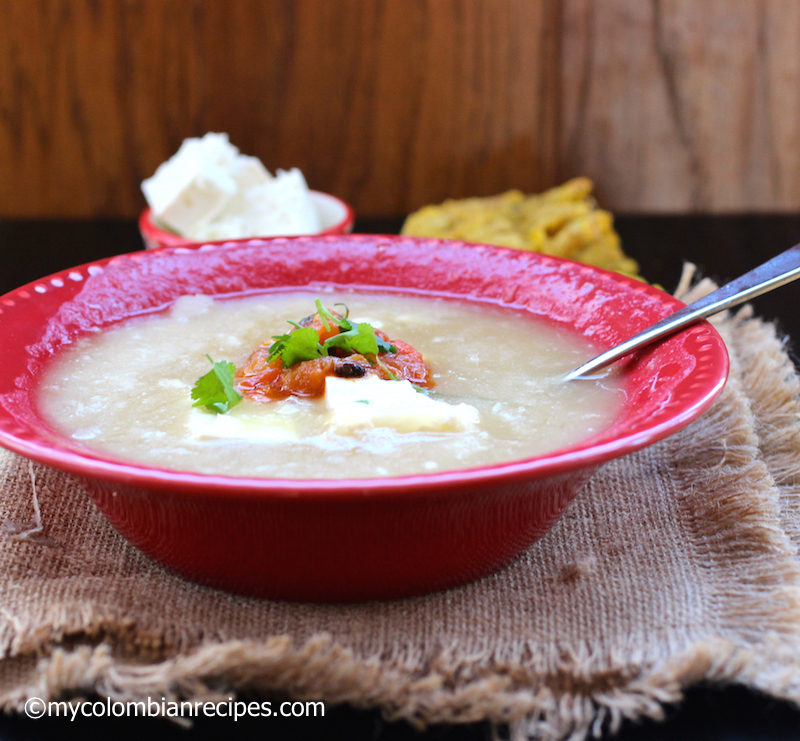 Mote de Queso (Colombian Cheese and Yam Soup)