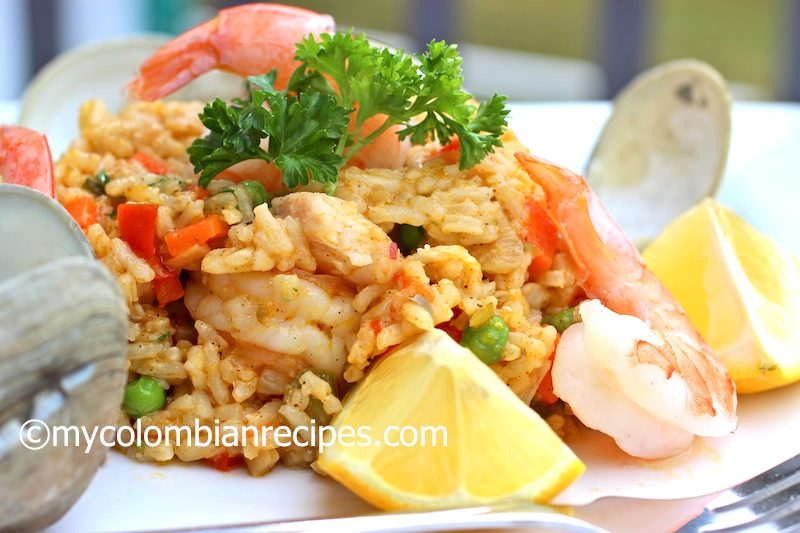 Arroz Marinero (Seafood Rice)