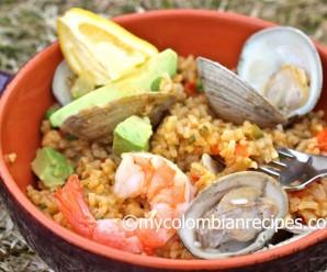 Arroz Marinero (Colombian Seafood Rice)