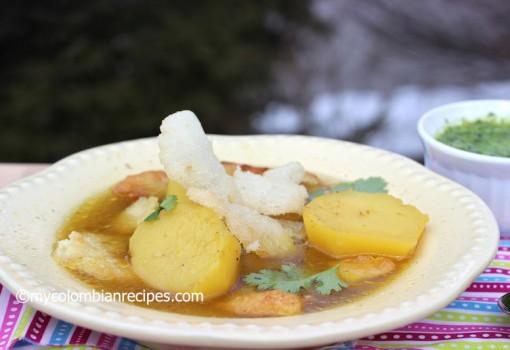 """<span class=""""p-name"""">Sopa de Carantantas (Corn Masa Fritters Soup)</span>"""