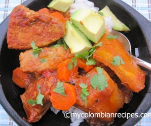 Estofado de Cerdo y Yuca (Pork and Cassava Stew)