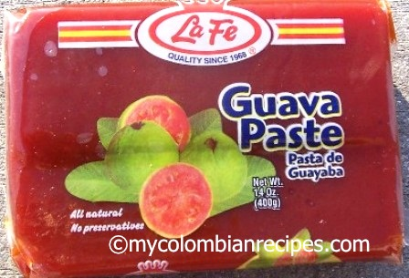 guva paste bocadillo mycolombianrecipes.com