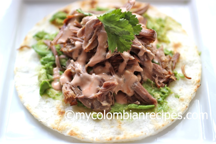 Slow Cooker Colombian-Style Pulled Pork