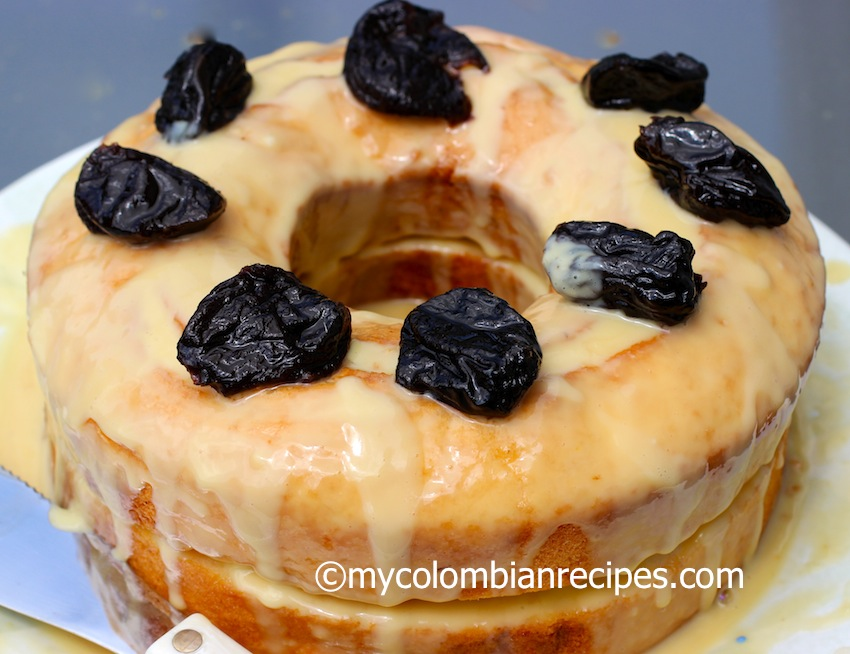Pastel Borracho (Colombian-Style Drunken Cake)