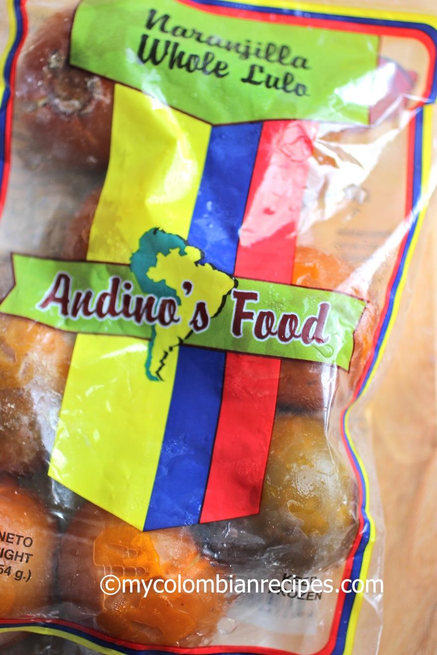 Lulada (Colombian Lulo Drink)