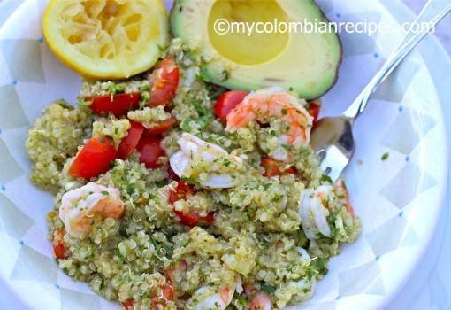 "<span class=""p-name"">Quinoa, Shrimp and Chimichurri Salad</span>"