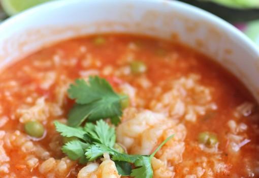 Arroz Caldoso de Camarones (Shrimp Soupy Rice)