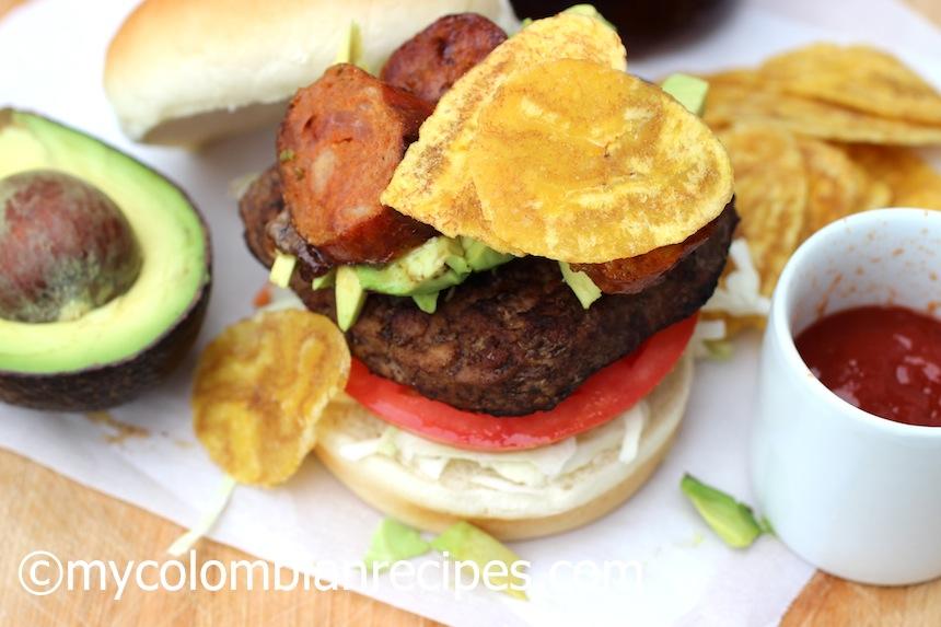 Hamburguesa Colombiana