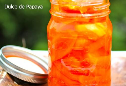 Receta de Dulce de Papaya  mycolombianrecipes.com