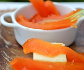 Dulce de Papaya (Fresh Papaya in Syrup) |mycolombianrecipes.com