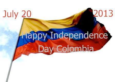 Happy Independence Day, Colombia!