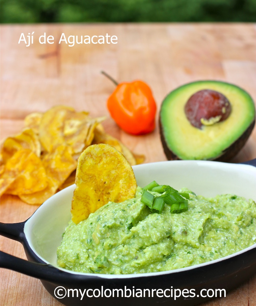 Ají de Aguacate | My Colombian Recipes